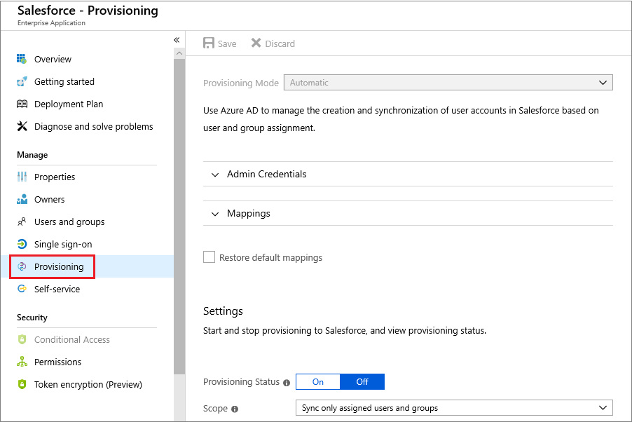 Automated SaaS app user provisioning in Azure AD   Microsoft