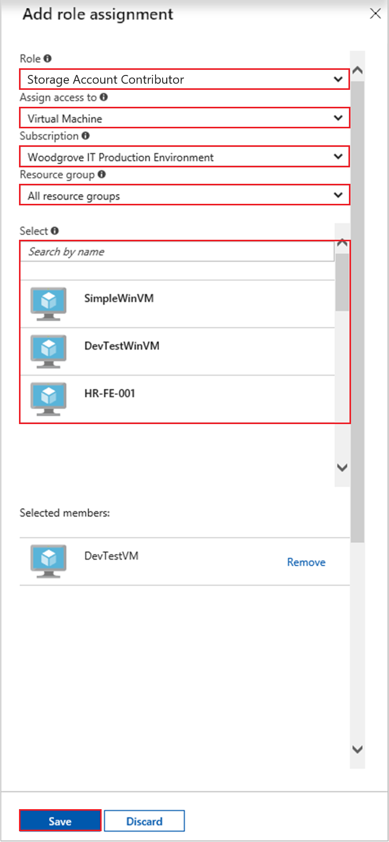 Use a Windows VM system-assigned managed identity to access Azure