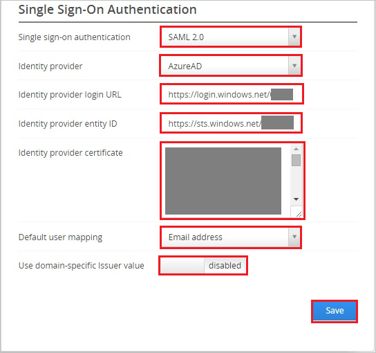 Single Sign On Authentication