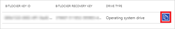 View BitLocker keys