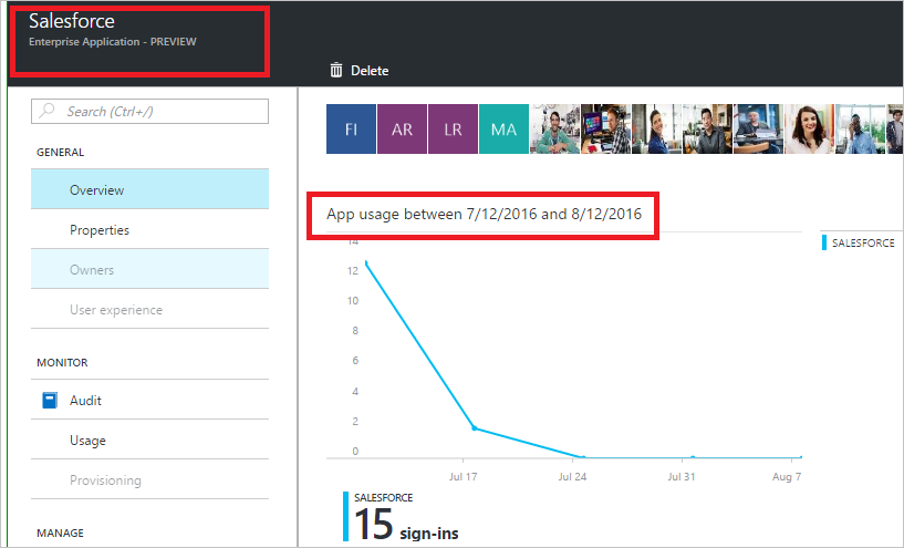 Sign-in activity reports in the Azure Active Directory