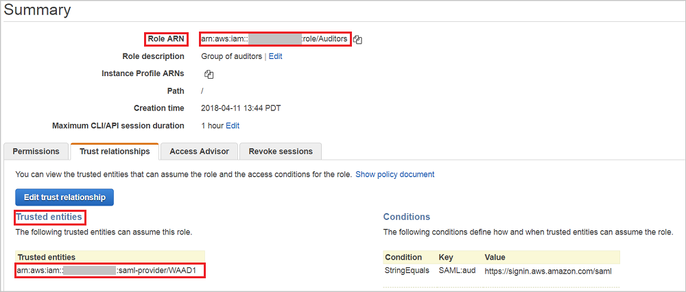 Tutorial: Azure Active Directory integration with Amazon Web