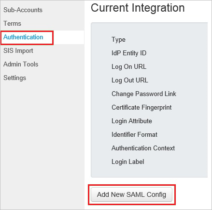Tutorial: Azure Active Directory integration with Canvas