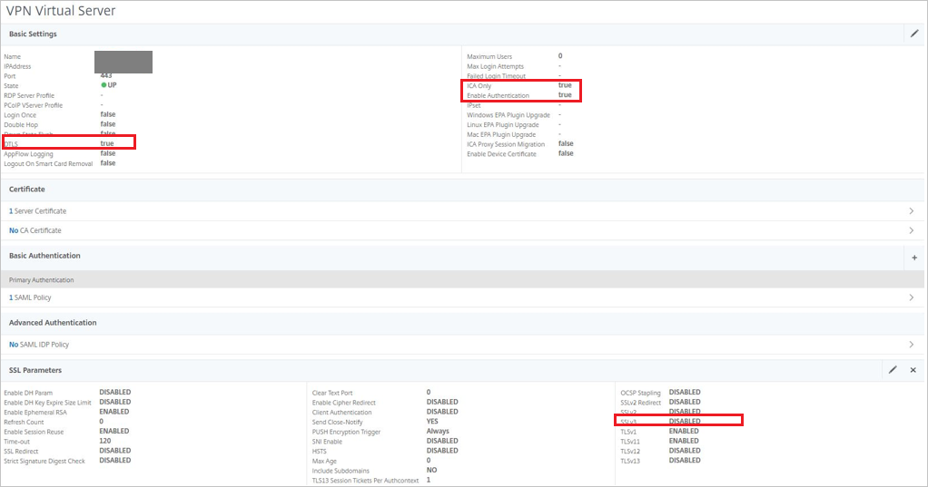 Tutorial: Azure Active Directory integration with Citrix NetScaler