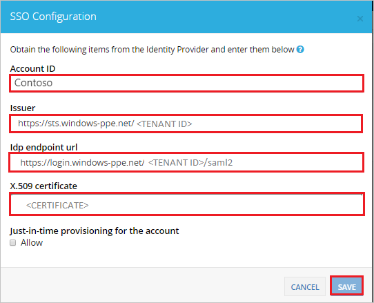 Tutorial: Azure Active Directory integration with Check