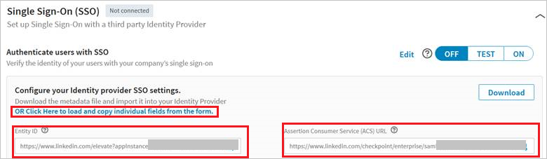 Tutorial: Azure Active Directory integration with LinkedIn