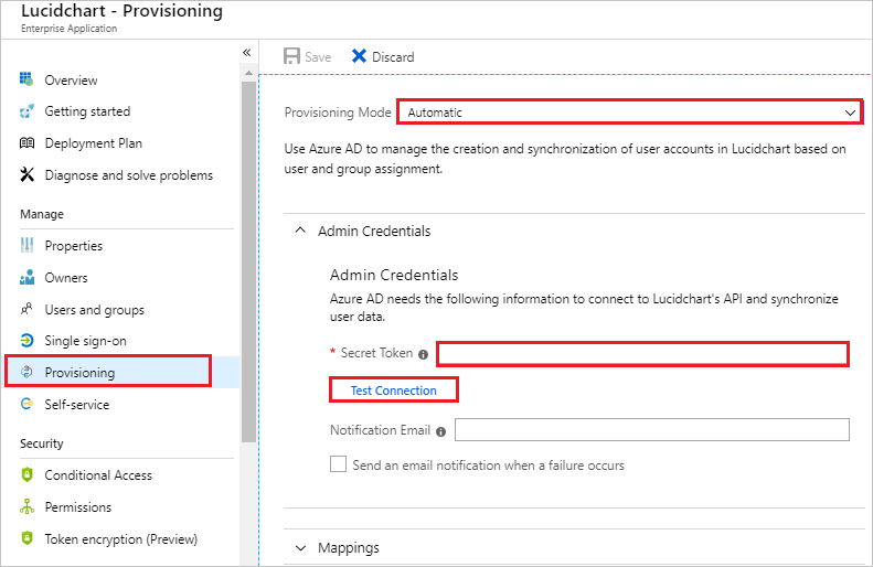 Tutorial: Configure LucidChart for automatic user