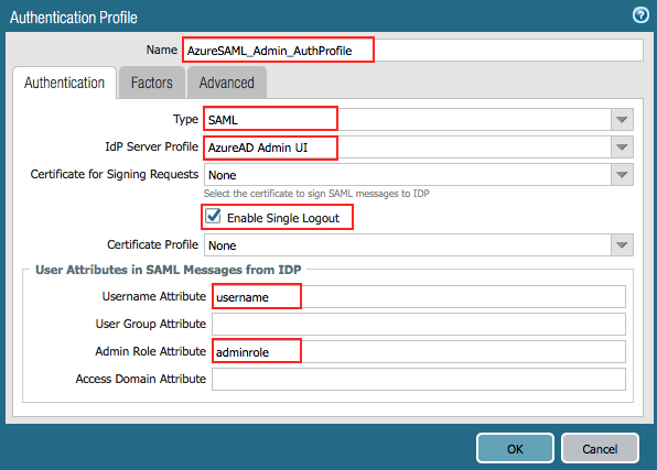 Tutorial: Azure Active Directory integration with Palo Alto