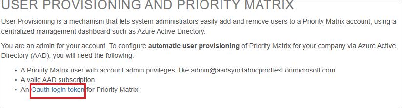 Tutorial: Configure Priority Matrix for automatic user