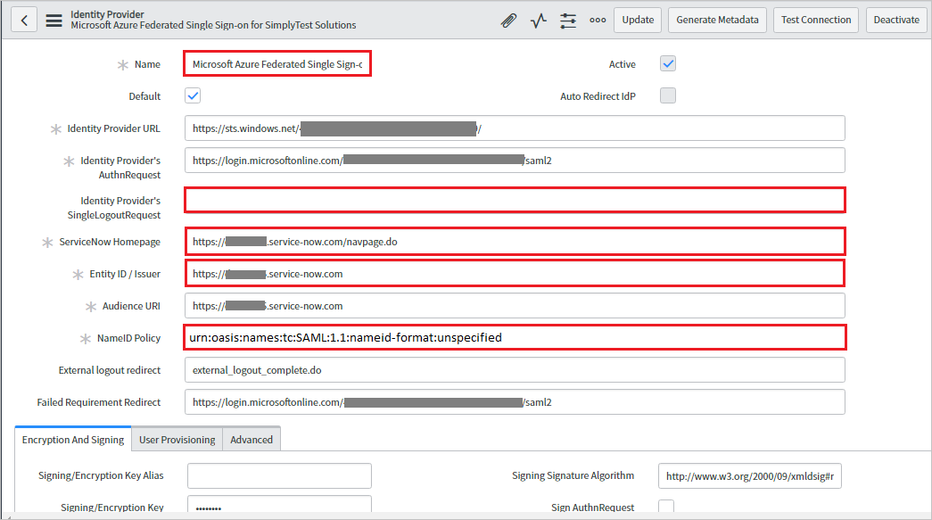 Tutorial: Azure Active Directory integration with ServiceNow