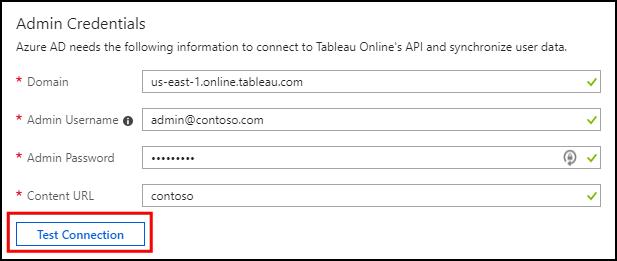 Tutorial: Configure Tableau Online for automatic user