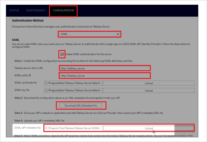 Tutorial: Azure Active Directory integration with Tableau