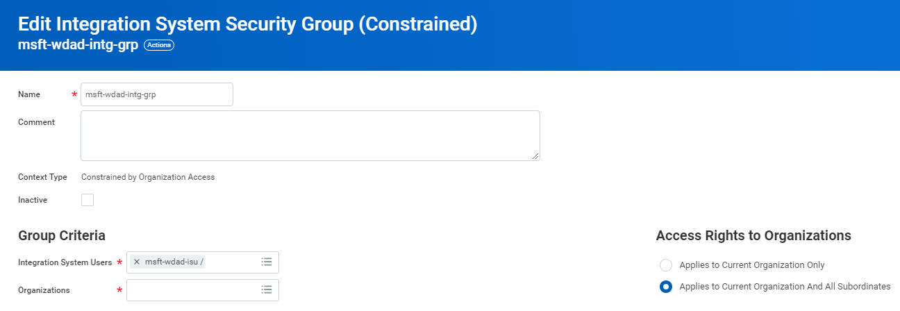Tutorial: Configure Workday for automatic user provisioning with
