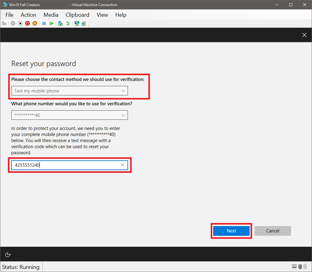 Reset your password - Azure Active Directory | Microsoft Docs