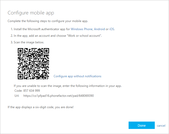 get started with the microsoft authenticator app
