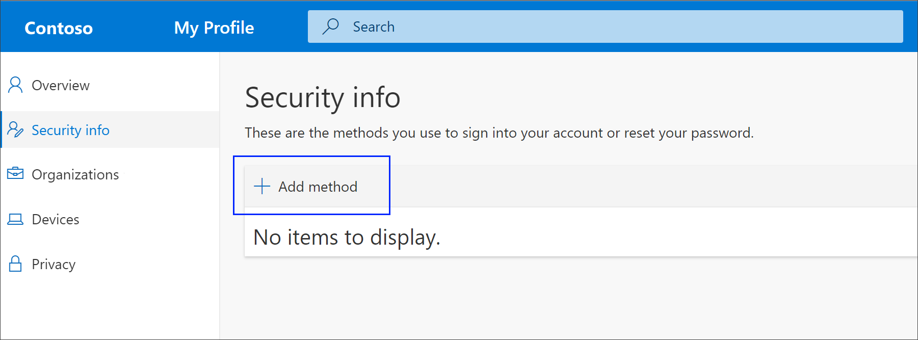Set up security info (preview) to use phone calls - Azure