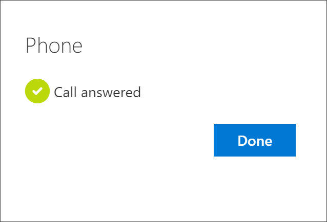 Success notification, connecting the phone number, the choice to receive text messages, and your account