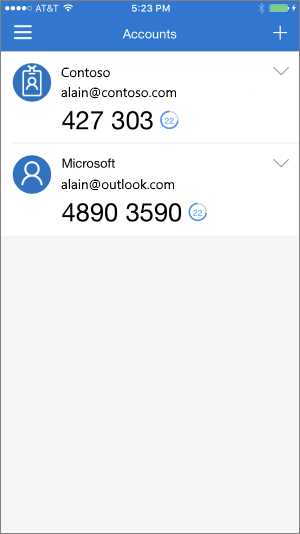 Help with Microsoft Authenticator app - Azure Active Directory