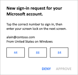 Sign in to your accounts using the Microsoft Authenticator app