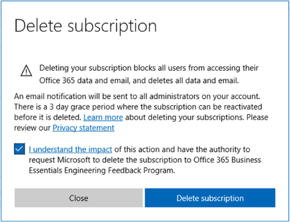 Delete an Azure AD directory - Azure Active Directory