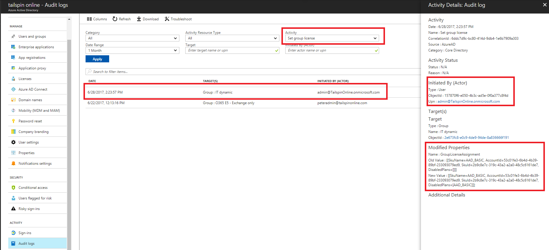 Group-based licensing additional scenarios - Azure Active