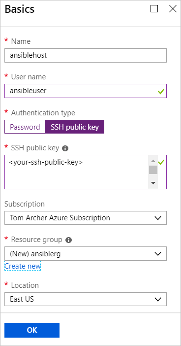 Quickstart - Deploy the Ansible solution template for Azure