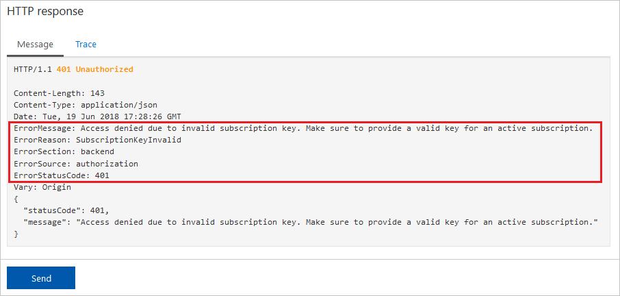 Error handling in Azure API Management policies | Microsoft Docs