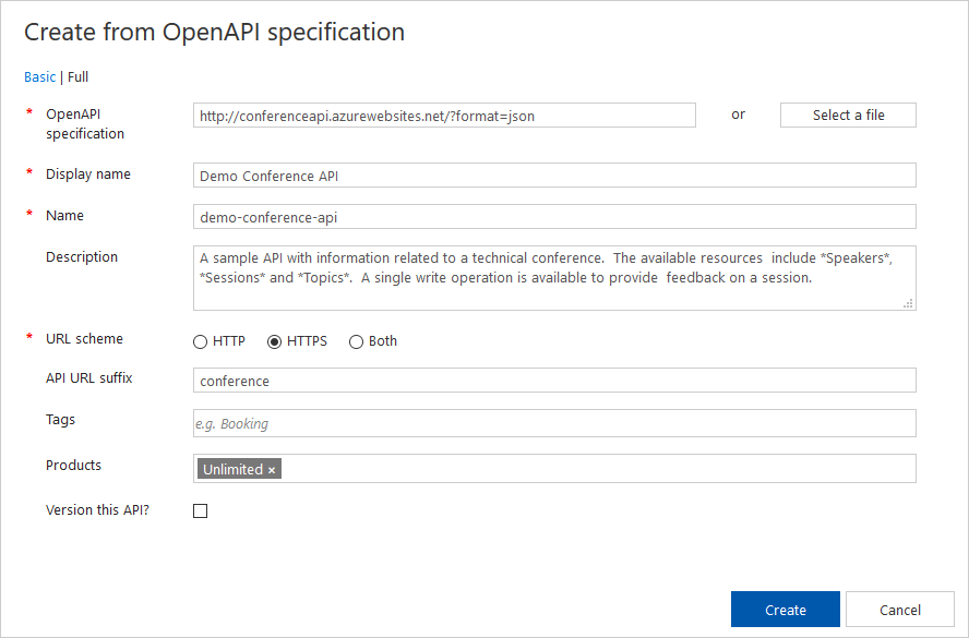 Import and publish your first API in Azure API Management