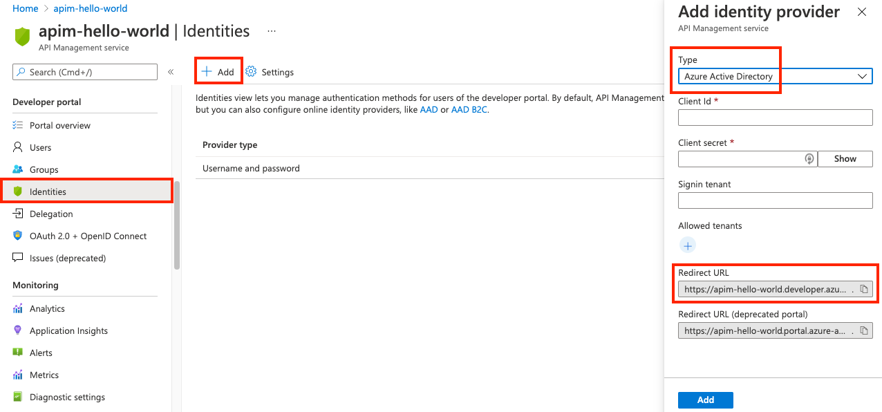 Authorize developer accounts by using Azure Active Directory