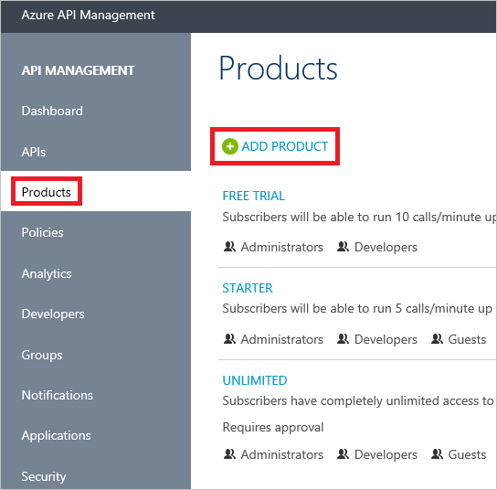 microsoft azure api management documentation
