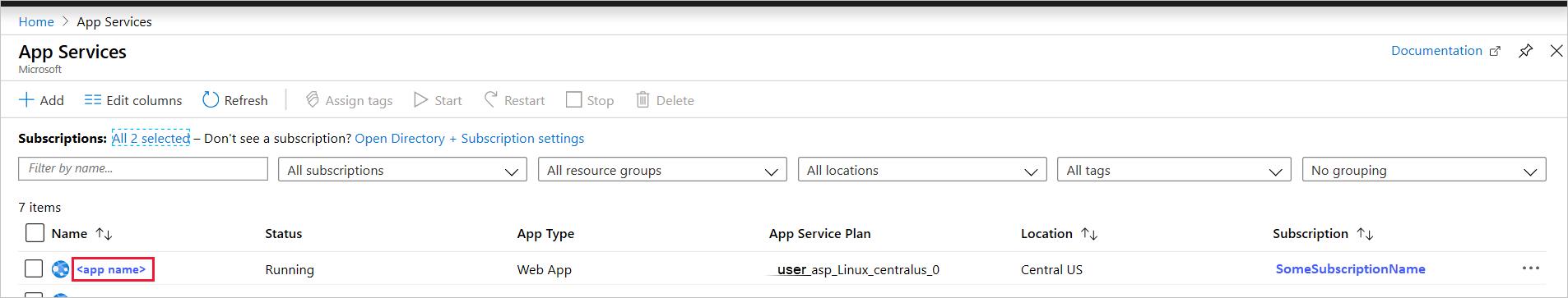 Quickstart: Create a Linux Python app - Azure App Service