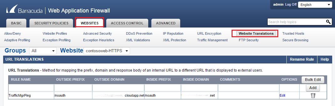 Configure a web application firewall (WAF) for App Service