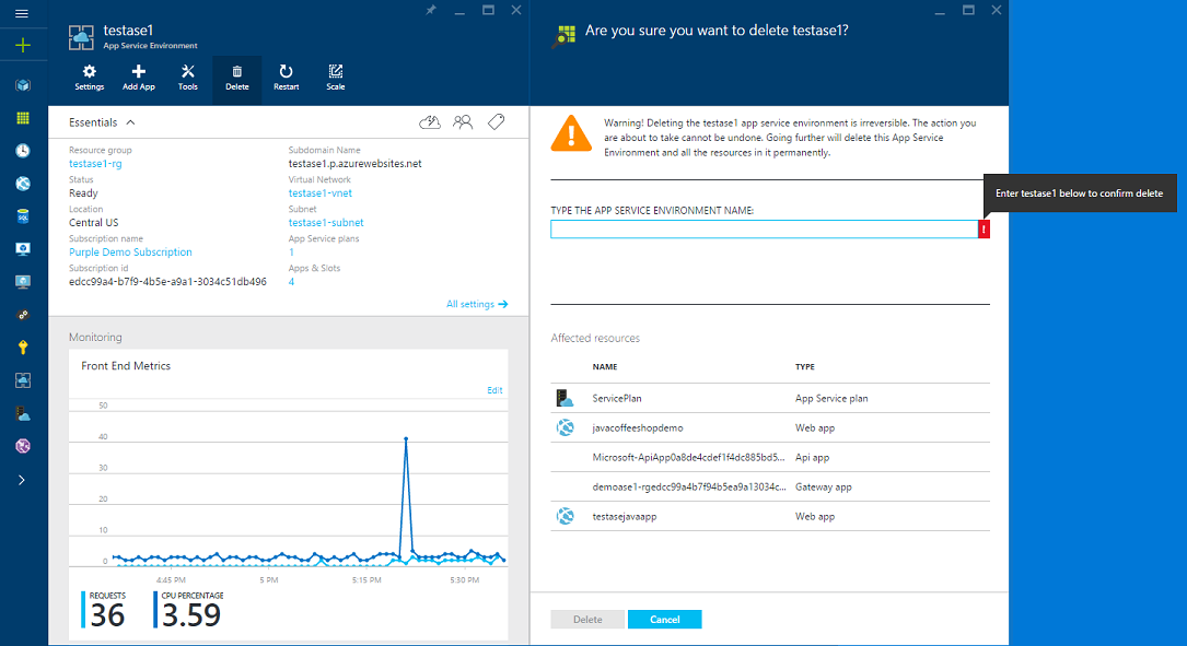 How to Configure an App Service Environment v1 - Azure