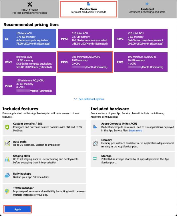 Configure PremiumV2 tier - Azure App Service   Microsoft Docs