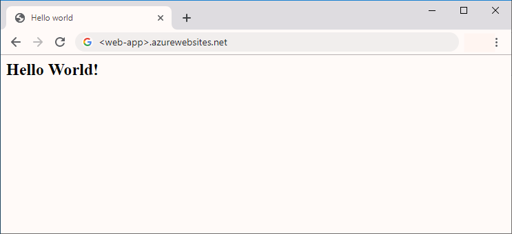 Create a Java web app on Windows - Azure App Service