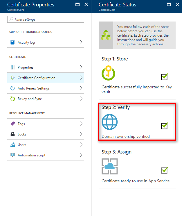Buy And Configure An Ssl Certificate For Your Azure App Service
