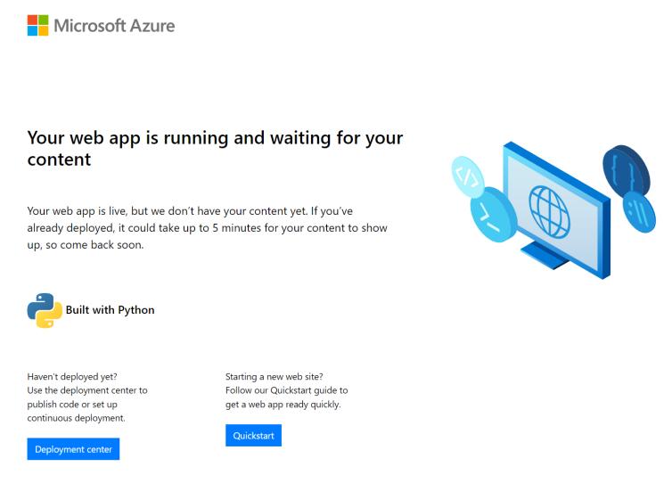 Configure Linux Python Apps Azure App Service Microsoft Docs