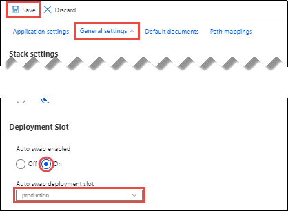 Set up staging environments for web apps in Azure App