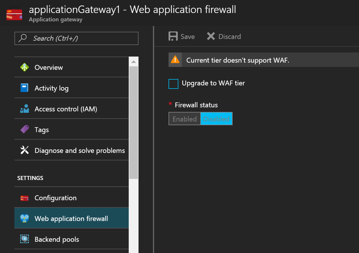 Customize web application firewall rules in Azure