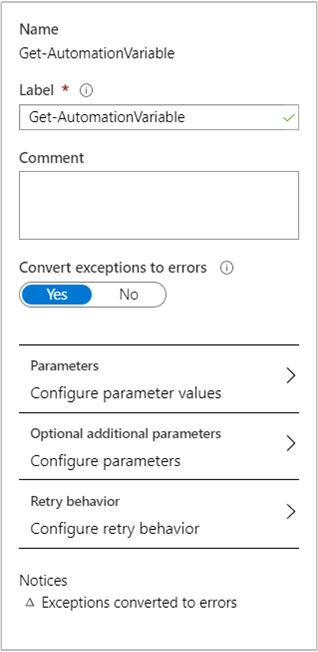 machine exception error