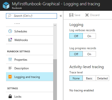 Runbook Output and Messages in Azure Automation   Microsoft Docs