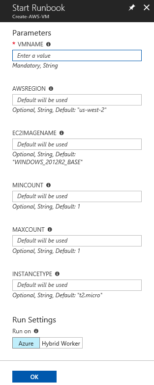 Automating deployment of a VM in Amazon Web Services