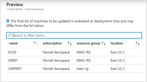 Update Management solution in Azure | Microsoft Docs