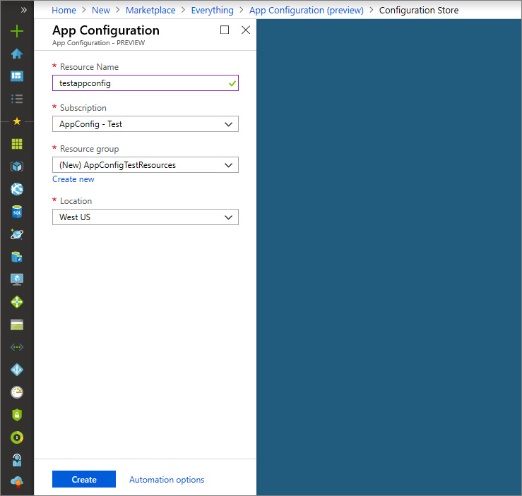 Quickstart for adding feature flags to ASP NET Core