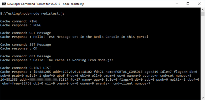 Quickstart to learn how to use Azure Cache for Redis with