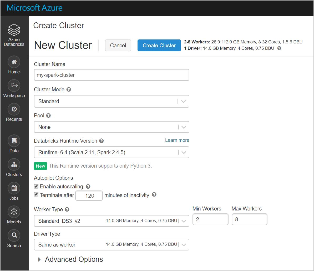 Tutorial: Perform ETL operations using Azure Databricks