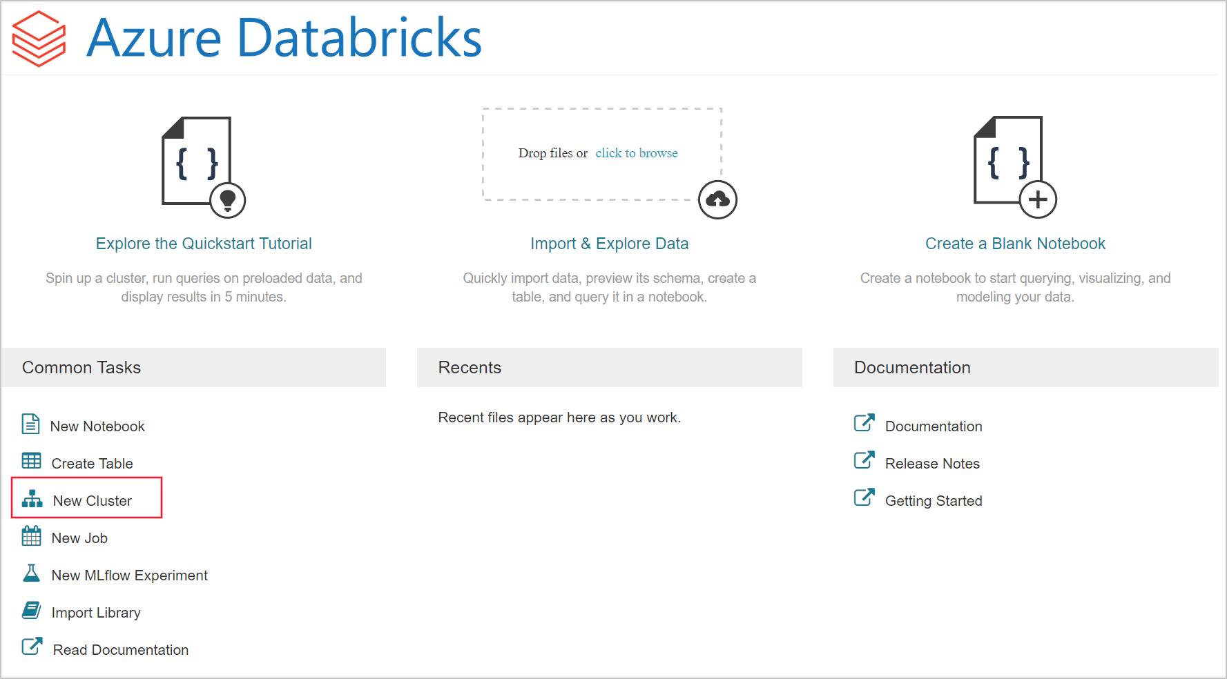 Quickstart: Run a Spark job on Azure Databricks using Azure