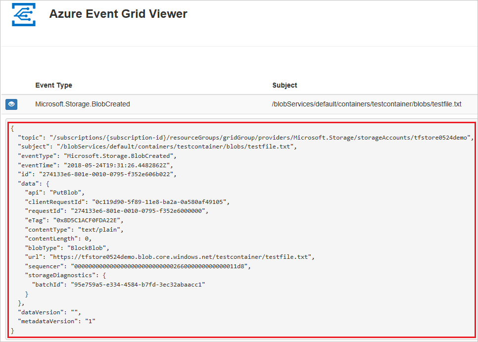 Event Grid trigger for Azure Functions | Microsoft Docs