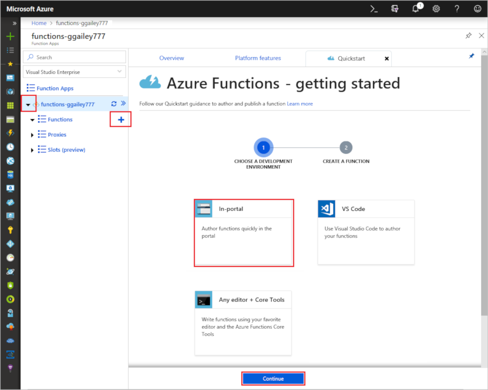 Create a function triggered by Azure Cosmos DB | Microsoft Docs