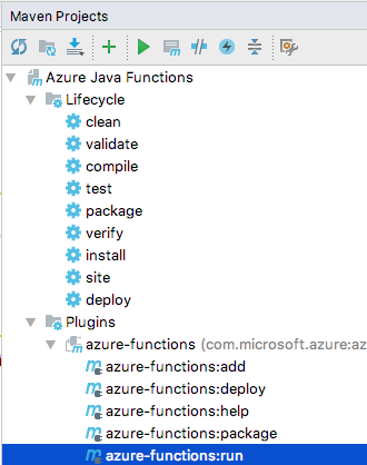 Create an Azure function with Java and IntelliJ | Microsoft Docs